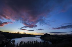 Sunset over Lake Vyrnwy 3