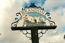 Brandon Village Sign