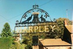 Harpley Village Sign