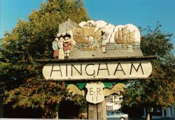Hingham Village Sign