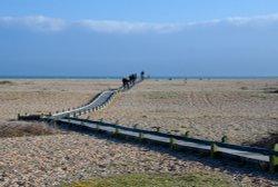 Beach path, Dungeness