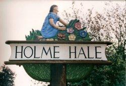 Holme Hale Village Sign