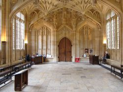 The Divinity School, Oxford.
