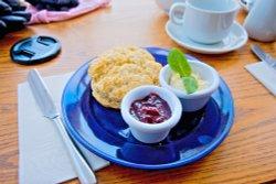 Cream Tea at St Ives, Cornwall