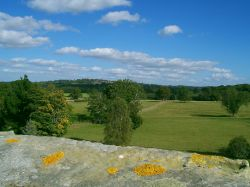 View towards Goudhurst , Kent , from the roof of Finchcocks
