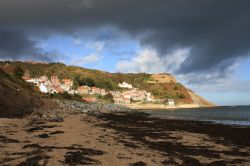 Storm clouds over Runswick