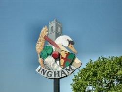 Ingham Village Sign