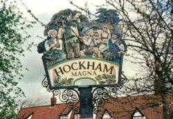 Great Hockham Village Sign