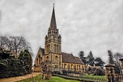 The Church at Batsford Arboretum