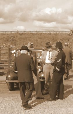 1940s weekend on the Great Central Railway