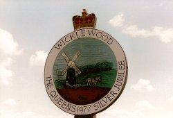 Wicklewood Village Sign