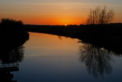 Sunset of Wattersham Sewer, Iden