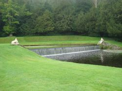 Studley Royal Water Gardens weir
