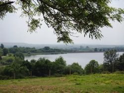 Draycote Water from Toft Hill
