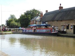 Grand Union Canal at Stoke Bruerne