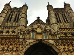 The West Front of Lincoln Cathedral
