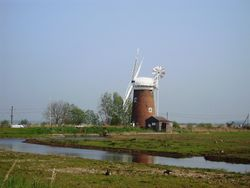 Wind pump at Horsey