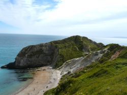 Towards Durdle  Door