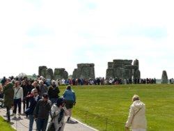 Bank Holiday Monday at Stonehenge