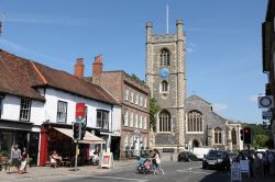 Hart Street and St. Mary-the-Virgin Church, Henley-on-Thames