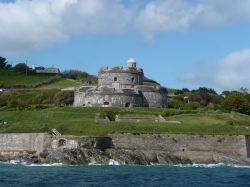 St Mawes Castle - the sea view.