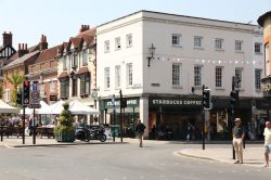 Henley-on-Thames, Corner of Bell Street and Market Place