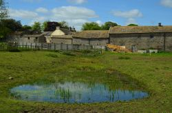 Farm buildings at Middleham