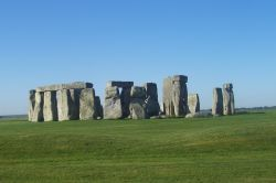 Stonehenge on a clear day
