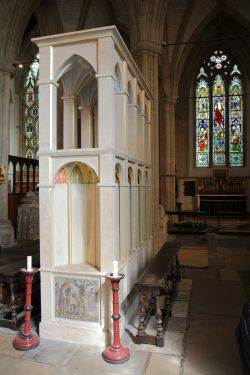 Shrine of St. Birinus, Dorchester Abbey