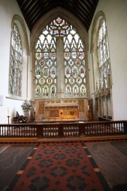 The East Window and High Altar, Dorchester Abbey