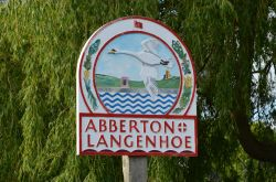 Abberton village sign
