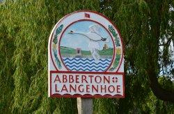 Abberton village sign