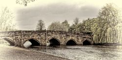 The Grade I listed five-arched bridge Wallpaper