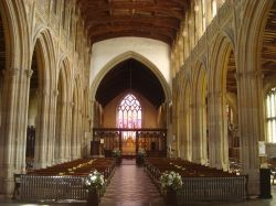 St Peter and St Paul's Church nave