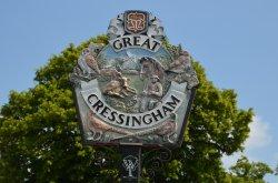 Great Cressingham sign