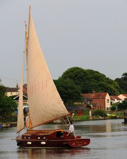 The River Yare, Reedham
