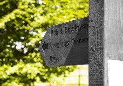 Loughrigg signpost