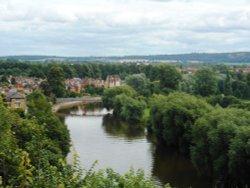 River Severn at Shrewsbury