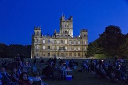 BATTLE PROMS NIGHT at Highclere Castle.