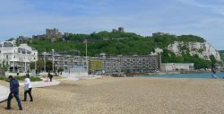 The beach at Dover, Kent