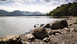 Derwentwater, Victoria Bay, south