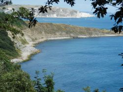 View from the coastal path near Swanage