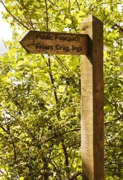 This way to Friars Crag