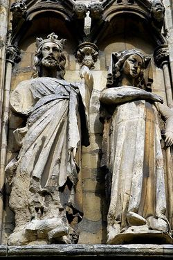 Sculptures, Lincoln Cathedral