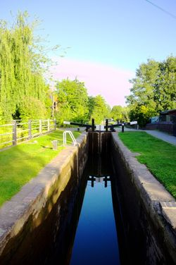 Canal in Atherstone