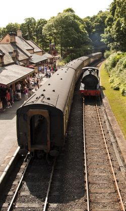 Haverthwaite Station 2
