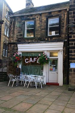 Cafe at Holmfirth