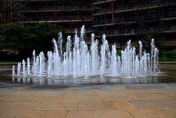 Water Fountain Peace Gardens Sheffield