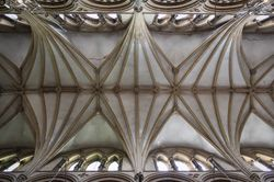Lincoln Cathedral, the vault of the Nave