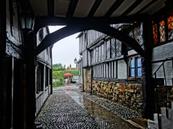 Courtyard passage, the Mermaid Inn